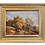 """Thumbnail: Landscape Painting """"A Woman with Cows """" Signed"""