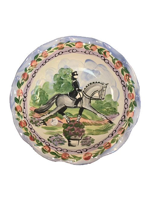Painted Horse Bowl