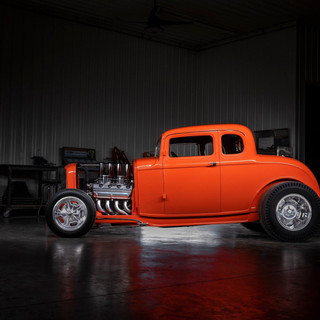 1932 Ford built by Dave Lane