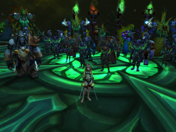 Clearing normal and making our stand with heroic
