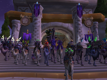 Raid Leader 101: Two teams in the same guild. (Twitter: @RaidLeader101)
