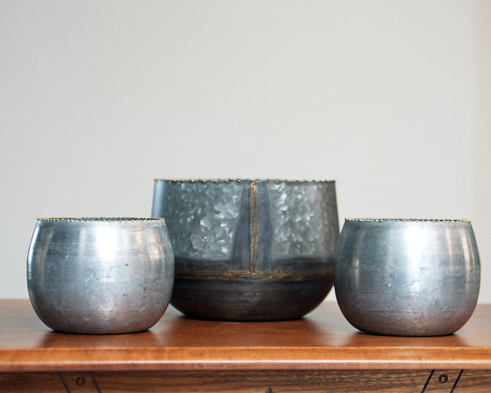 Galvanized Container Collection