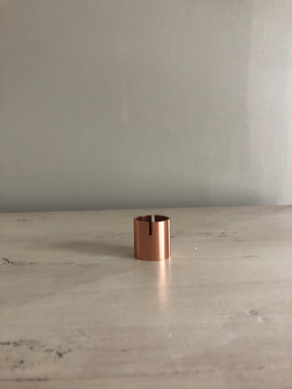 Copper card holder