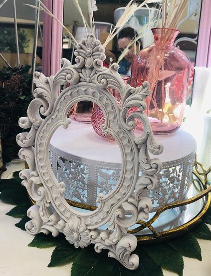 Small ornate white Frame