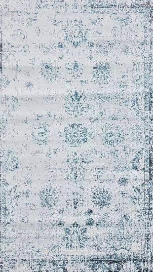 Blue Bonnie Rug 5'x8'