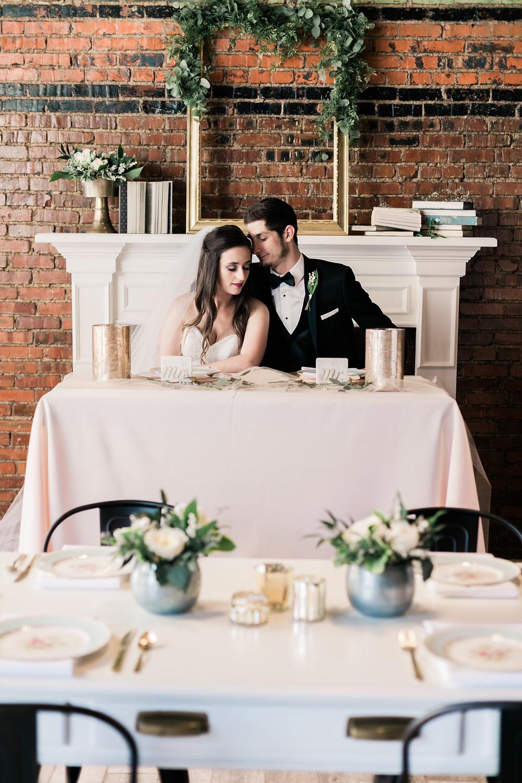Alternative Traditional Wedding Styled Shoot