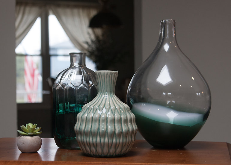 Turquoise Vase Collection
