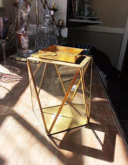 Gold Tri Lantern