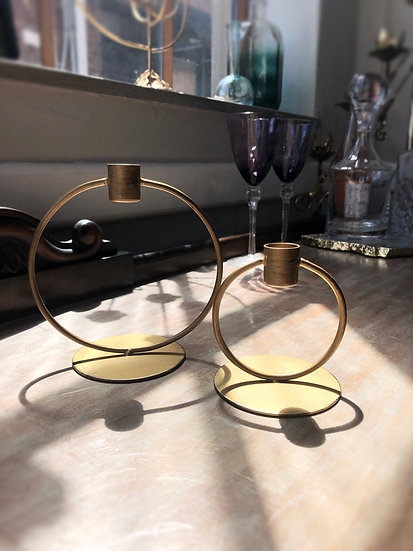 Ring Taper Candle Holders