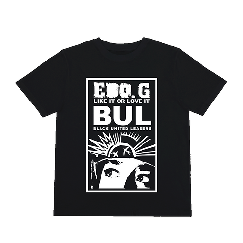 EDO G B.U.L Black United Leaders T- Shirt
