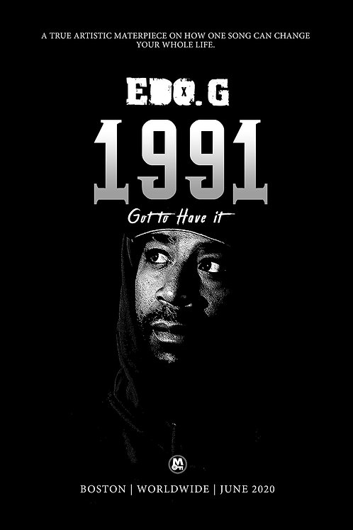 """Edo. G 1991 """"Got to Have it"""" POSTER"""