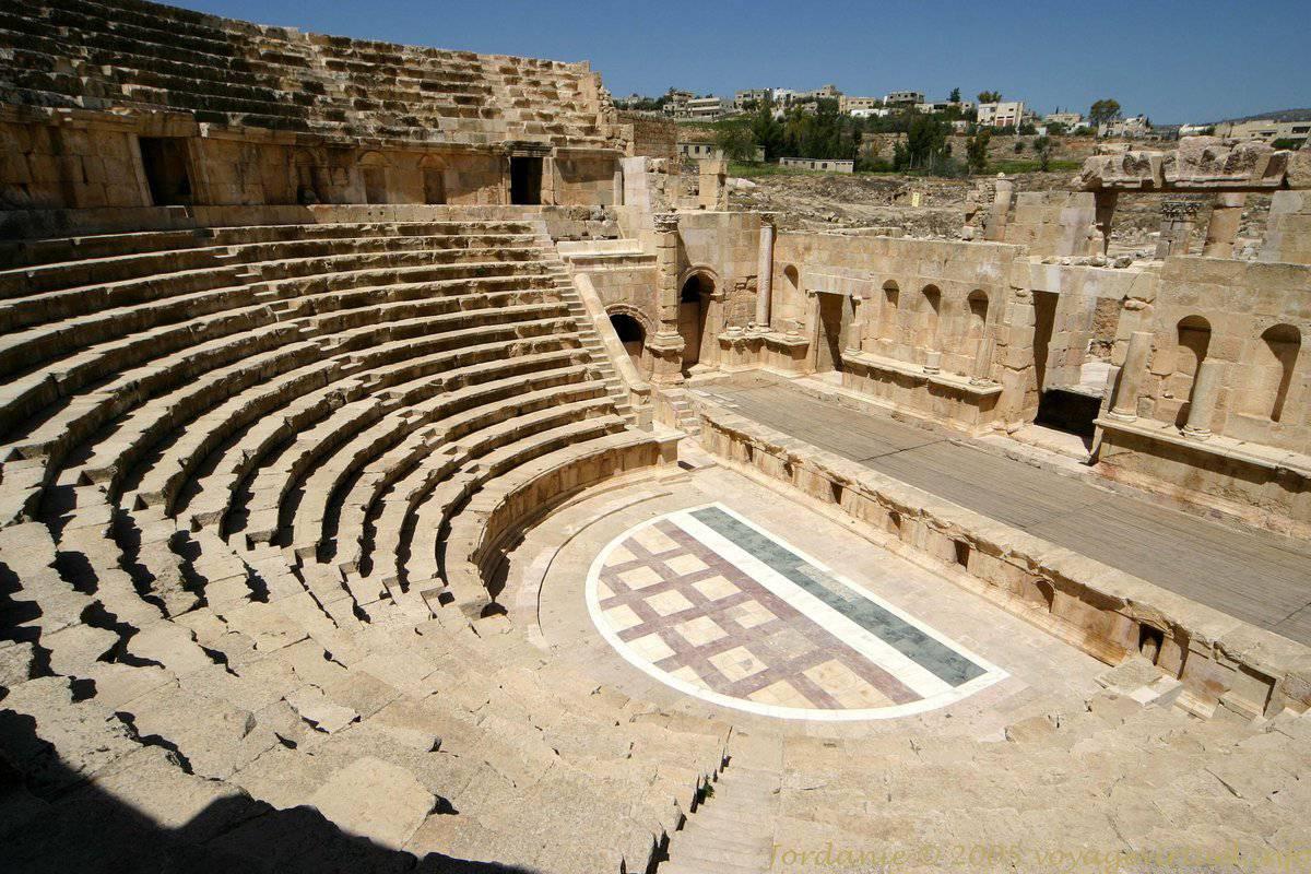 Roman city of Jerash, Jordan