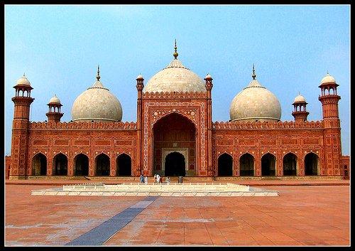 Badshah Mosque, Lahore, Pakistan