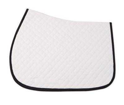 Saddle Pad (White w/ Trim)