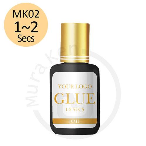 MK02 1-2 SECS GLUE RETENTION 6-7 Weeks 10ML