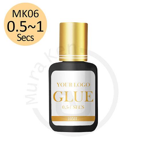 MK06 0.5~1 SECS GLUE RETENTION 7-8 Weeks 10ML