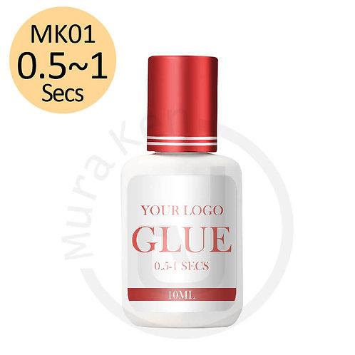 MK01 0.5-1 SECS GLUE RETENTION 6-7 Weeks 10ML
