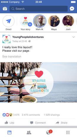 Facebook Feed Ad