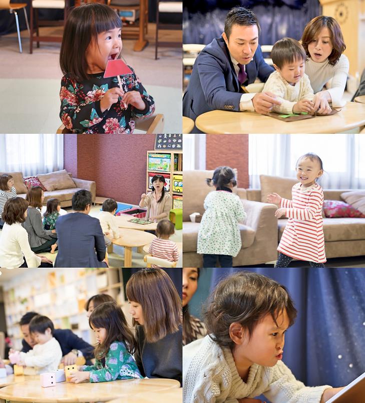 福岡の幼児教室レクルンのレッスン
