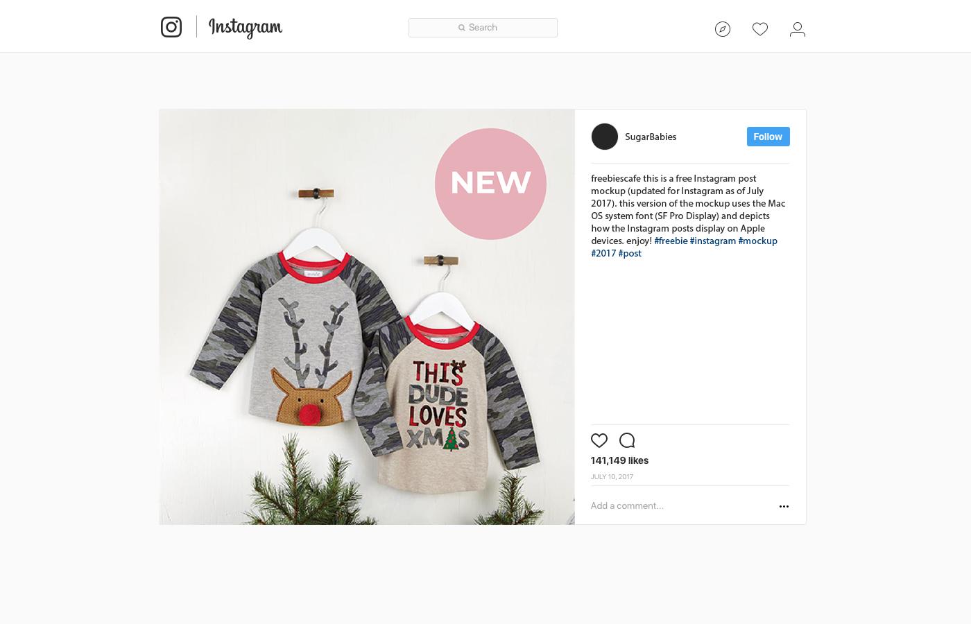 Instagram post ads