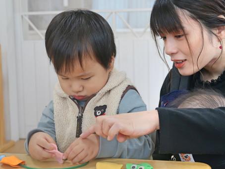 【出張講座】中比恵ソレイユガーデン保育園でおやこレクプラスを開催しました!|19年12月25日開催