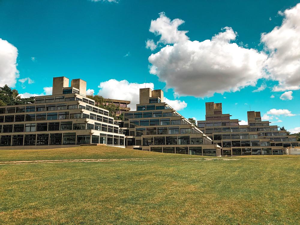 Ziggurats Brutalist Architecture Denys Lasdun
