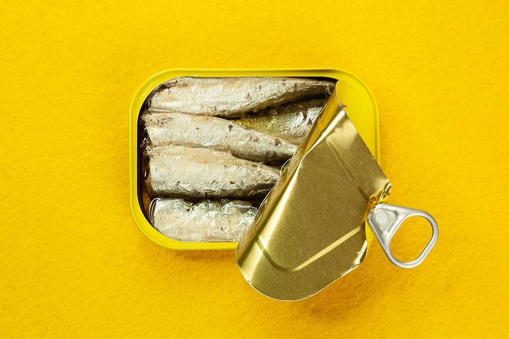 tinned sardines, super easy superfoods, sardine pasta
