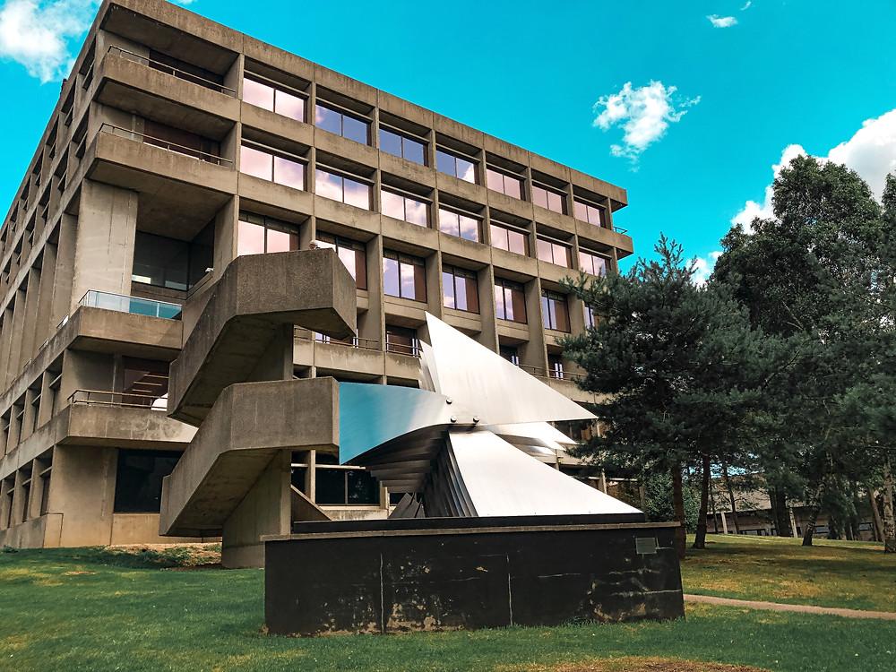 UEA Brutalist architecture Norwich