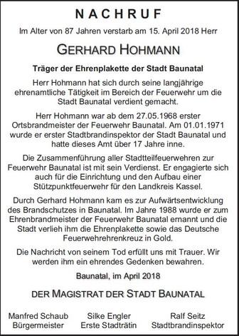Gerhard Hohmann