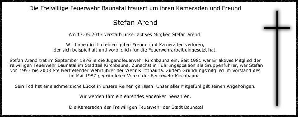 Stefan Arend