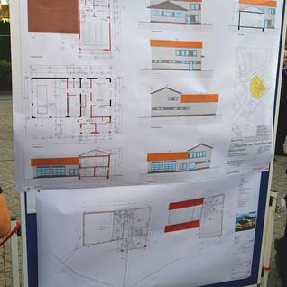 Bauplan neues FW Haus