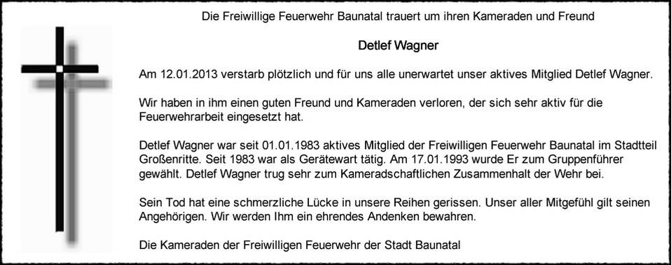Detlef Wagner