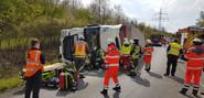 LKW Unfall Bild 2
