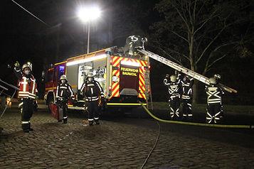 Baunataler Feuerwehr übt wieder praktisch