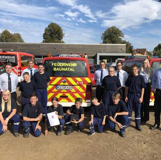 Team der Feuerwehr Baunatal