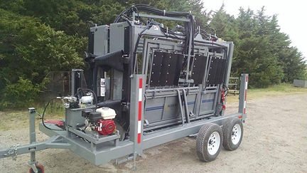 Hydraulic Yoke Trailer for Cattle Crush