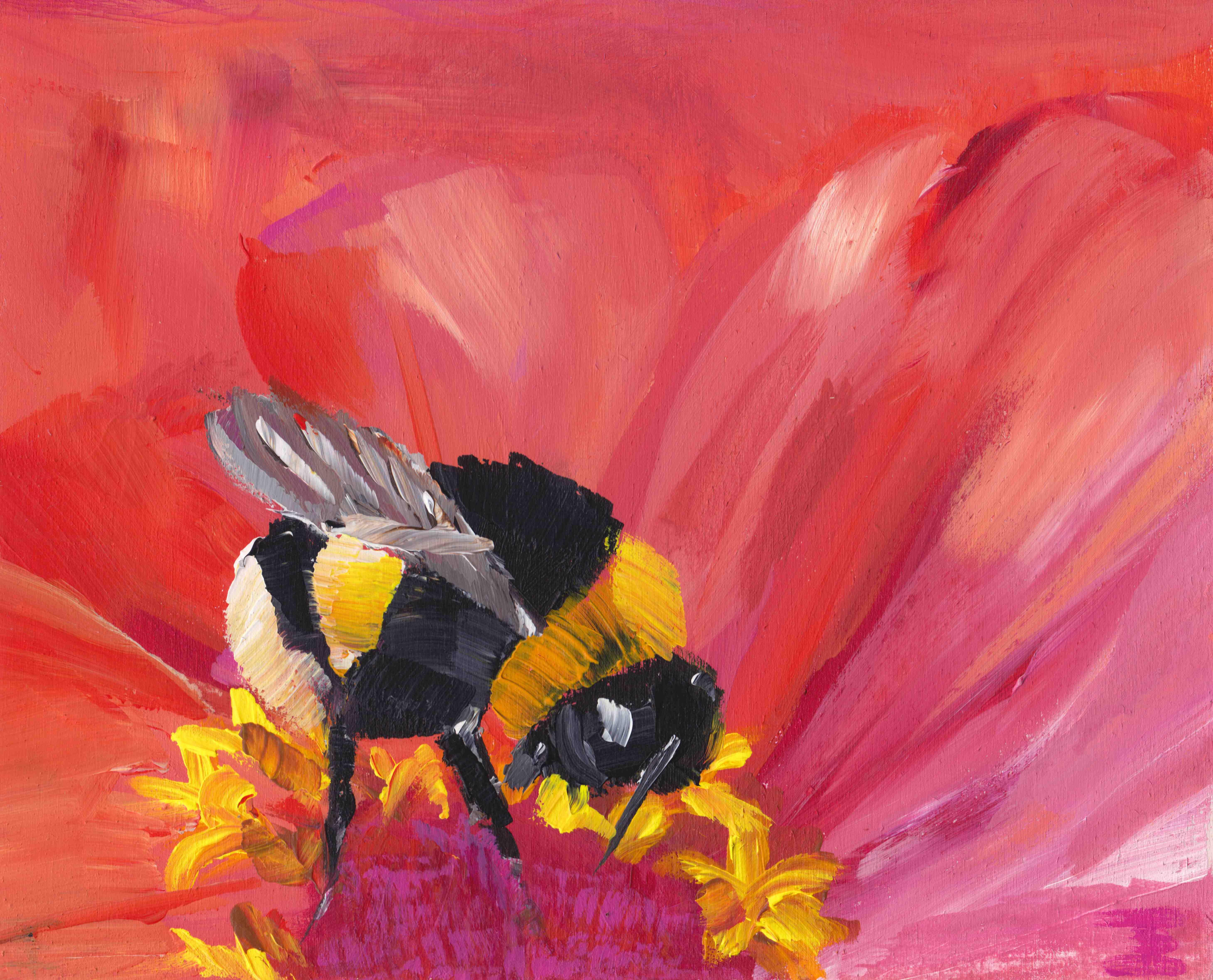 Bumblebee Feast
