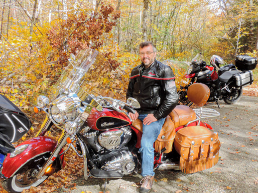 Beyond the Desk: Rolf Hargis Hugs the Handlebars with No Guardrails