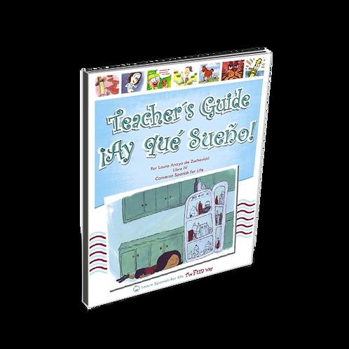 ¡Ay que sueño!, Teacher's Guide