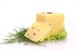 Cut Cheese with Dill