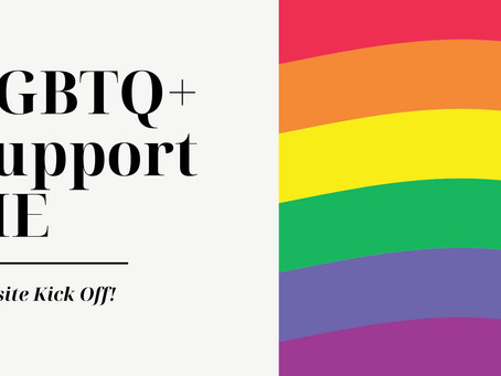 LGBTQ+ SupportME Website Kick Off!