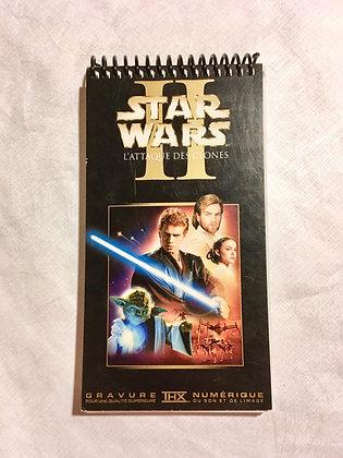 Copie de Copie de Copie de Carnet/ Notebook : VHS recyclé / recycle