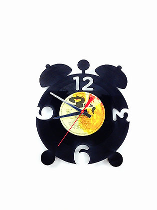 Horloge vinyle recyclé -Vinyl clock - Cadran -