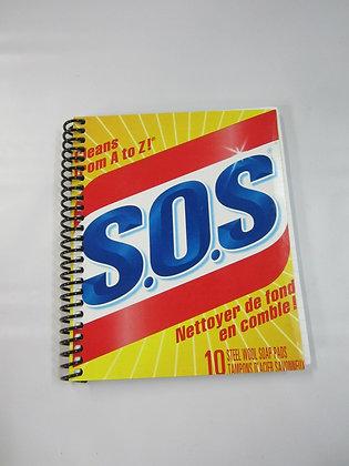 Carnet: Boîte de S.O.S recyclée