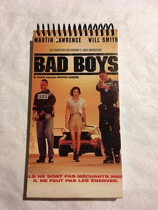 Copie de Copie de Copie de Copie de Copie de Carnet/ Notebook : VHS recyclé / re