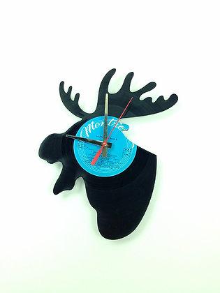 Horloge vinyle recyclé -Vinyl clock - Orignal -