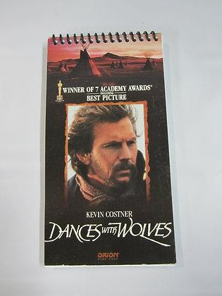 Carnet/ Notebook: Boîte de cassette VHS recyclée