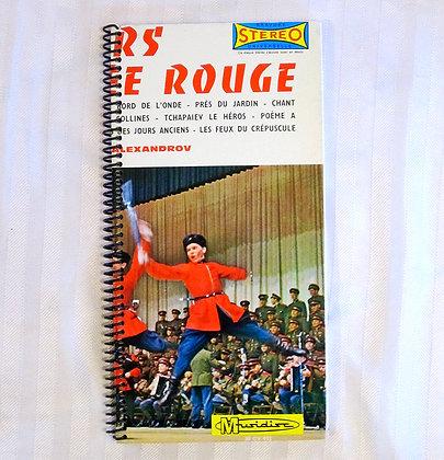 Carnet/ Notebook: Pochette disque vinyle recyclée