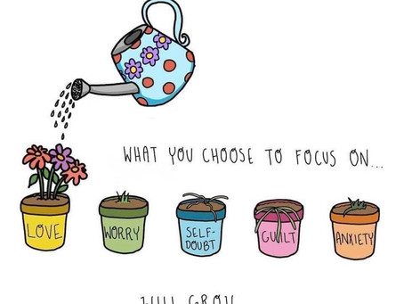 What we feed, grows!