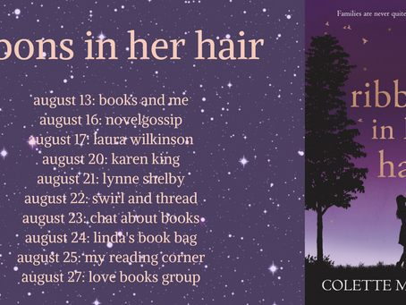 This Writing Life #4 Colette McCormick - Ribbons in Her Hair - Blog Tour